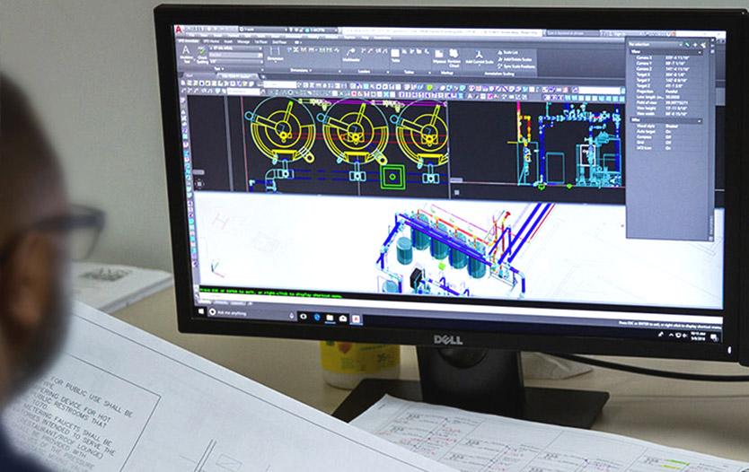 Designing on desktop